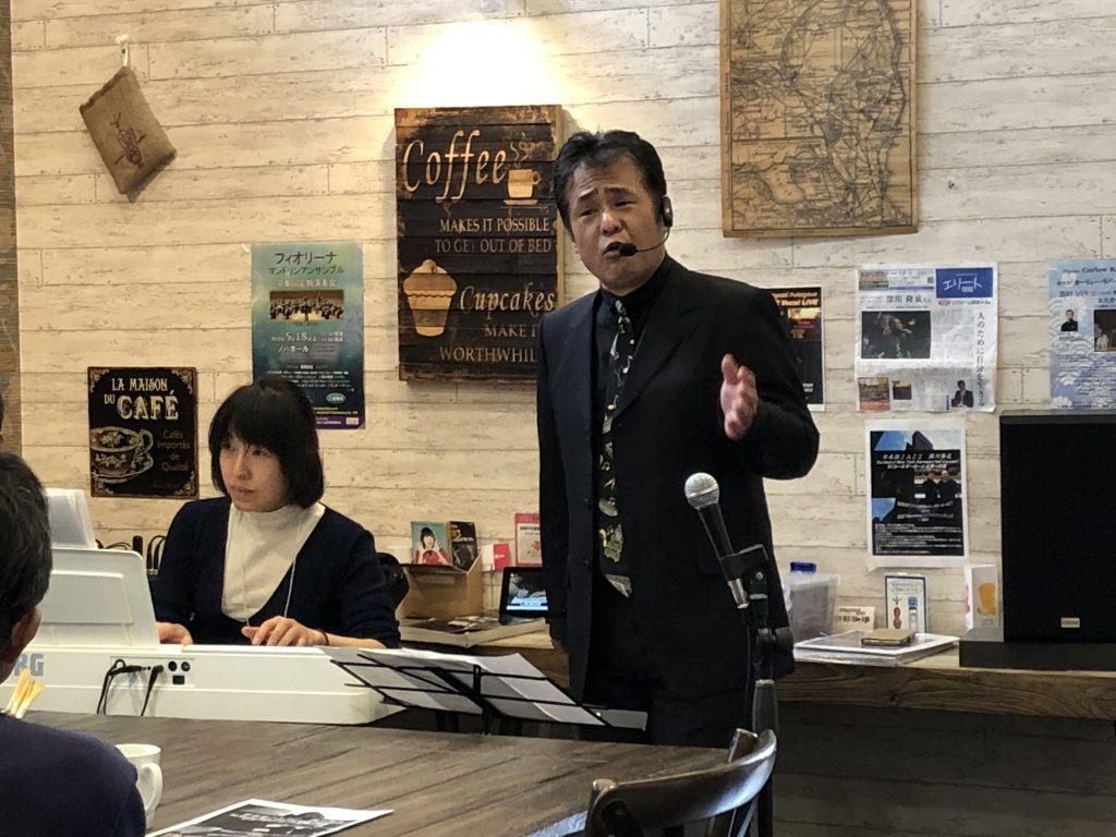 2019年3月17日深川隆成さんライブ